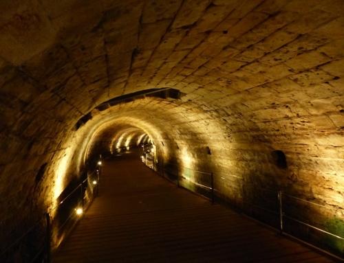 Descubiertos los túneles secretos de los templarios en Israel